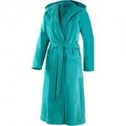 JOOP! Albornoces Mujer Albornoz con capucha turquesa Talla 44/46, largo 120 cm 1 Stk.