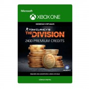 xbox one tom clancy's the division: currency pack 2400 premium credits digital