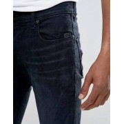 G-Star Revend Super Slim Jeans Rink Denim Dk Aged - Navy