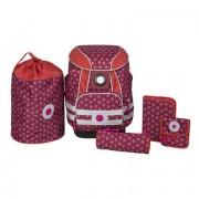 Lässig 4Kids Rugzak School Bag - Dottie red