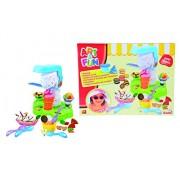 Simba Art & Fun Plastic Dough Ice Cream, Multi Color
