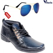 Vitoria Stylish Boot With Free Fashionable Unisex Sunglasses Combo
