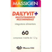 Massigen Dailyvit+ Multivitaminico Multiminerale 60 Cps