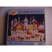 Bits and Pieces Santa's North Pole 1000 piece Puzzle