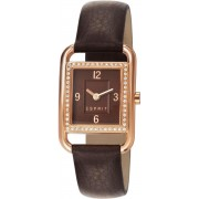 ESPRIT - Ione Square Spark Brown - ES106612003 - Horloge - 27 mm - Bruin