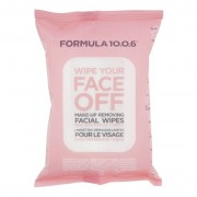 Formula 10.0.6 Wipe Your Face Off Make-Up Wipes 25 st