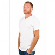Alan Red T-Shirt Vermont White (two pack) - Wit - Size: Small