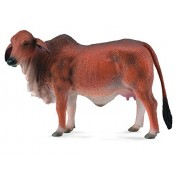 Collecta Red Brahman Cow, Multi Color