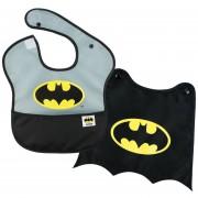 Babero Batman Con Capa DC Comics Para Bebés De 6-24 Months-Negro