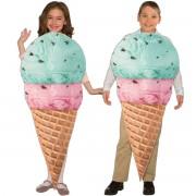 Barndräkt glass