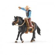 "Schleich ""Saddle bronc riding"" med cowboy 41416"