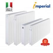 GENTECH - IMPERIAL 33K500x700 (olasz) lapradiátor /tartó szettel/ 10 év garancia (2052 W)