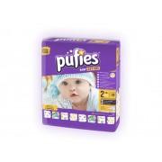 Scutece copii Pufies nr 2 Mini 3-6 kg 80 bucati