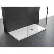 Novellini Olympic Plus douchebak acryl rechthoekig 160x90x4.5cm incl. sifon wit OL160904-30