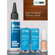 Lichid Tigara Electronica Premium Jac Vapour Real Aniseed 70ml, Nicotina 5,1mg/ml, 80%VG 20%PG, Fabricat in UK, Pachet DiY