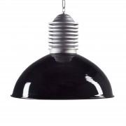 K. S. VERLICHTING Lámpara de suspensión ext. Carla alum./negro