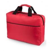 Geen Documenten tas rood 38 cm