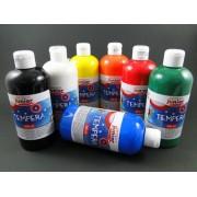 Tempera Standard 500 ml piros