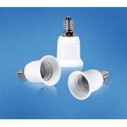 Die moderne Hausfrau žárovkový adaptér z e14 na e27, 3 ks