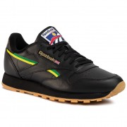 Обувки Reebok - Cl Leather Mu EG6423 Black/Basgrn/Heryel