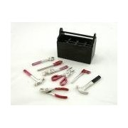 Dollhouse Miniature 1:12 Scale Tool BOX with Tools #Z1323