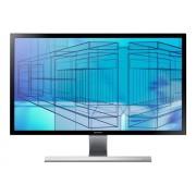 Samsung UD590 Series U28E590D - Écran LED - 28 - 3840 x 2160 4K UHD (2160p) - TN - 370 cd/m² - 1 ms - 2xHDMI, DisplayPort - noir, Brillant