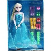 Ysf Elsa+Chaussure Set 29cm Doll Jouet Barbie Frozen Elsa Plastique Fille Présente