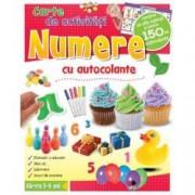 Numere. Carte de activitati cu autocolante 3-6 ani