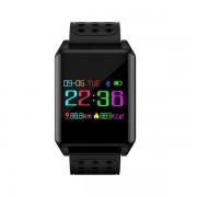 Ceas activity tracker Sovogue SE07N, Bluetooth, Rezistenta la apa (Negru)