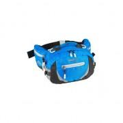 Merkloos Luxe wandel heuptas blauw