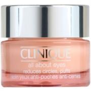 Clinique All About Eyes™ crema para contorno de ojos antibolsas y antiojeras (All Skin Types) 15 ml