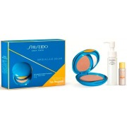 SHISEIDO UV PROTECTIVE COMPACT FOUNDATION SPF 30 ESTUCHE NºSP60 MEDIUM BEIGE+2 PRODUCTOS REGALOS