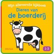Mijn allereerste kijkboek: Dieren op de boerderij 1-3 jaar - ZNU
