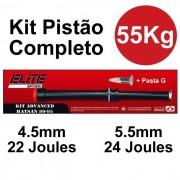 Kit Pistão Mola Gas Ram 55kg Hatsan HT 80 HT 95 - Elite Airguns