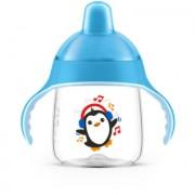 Philips Avent Tuitbeker SCF753/05 260 ml 12m+ Pinguïn, blauw