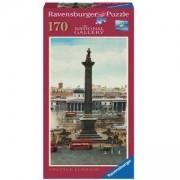 Вертикален пъзел от 170 части - Винтидж Лондон, Ravensburger, 7015139