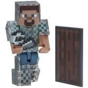 Minecraft Steve láncpáncélban