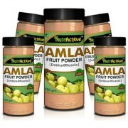 NutrActive AMLA POWDER Antioxidant Vitamin-C - 150gm (Pack of 5)