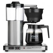 Moccamaster Kaffebryggare CD Grand AO Polished Silver