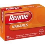 BDV Rennie rágótabletta Narancs - 36x