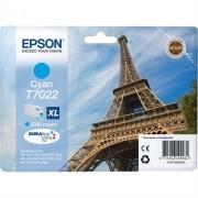 Tinteiro EPSON Cyan Alta Cap.WP-4000/4500 - C13T70224010