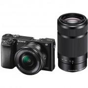 Sony Alpha A6000 Zwart + 16-50mm + 55-210mm