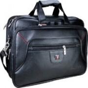 Limer 16 inch Laptop Messenger Bag(Red, Black)