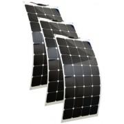 Hajlítható flexibilis napelem 12V 100 wattos 3db