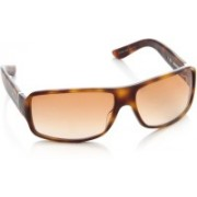GUCCI Rectangular Sunglasses(Brown)