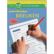 Tijd voor Huiswerk Oefenblaadjes- breuken 9-10 jaar