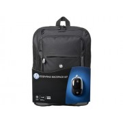 """Backpack, HP Essentials Kit, 16"""" + Mouse (E5L03AA)"""