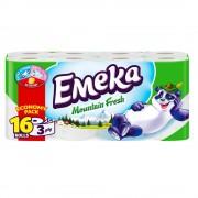 Emeka Mountain Fresh Hartie igienica 3 straturi 16 role