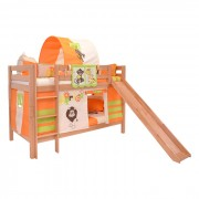 Dečiji krevet na sprat sa toboganomMark Tobogan Natur Africa