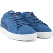 Puma Suede Classic Mesh FS IDP Sneakers For Men(Blue)